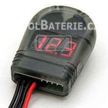 2-8S Lipo Battery Tester Low Voltage Alarm, p�p�k