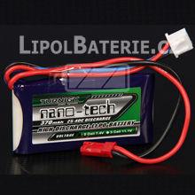 Lipol baterie Turnigy nano-tech 2S 370mAh 25C 7.4V