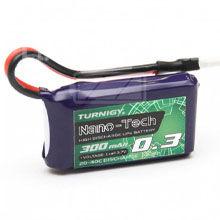 Lipol baterie Turnigy nano-tech 1S 300mAh 20C 3.7V