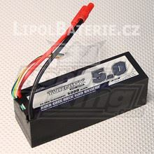 Lipol baterie Turnigy 4S 5000mAh 20C 14.8V HARDCASE