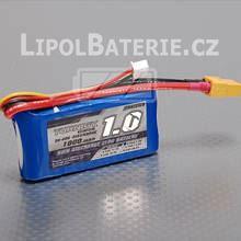 Lipol baterie Turnigy 2S 1000mAh 30C 7.4V