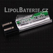 Lipol baterie Turnigy nano-tech T0, Align Trex 1S 160mAh 25C 3.7V