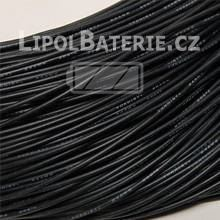 Kabel silicon 24 AWG �ern�