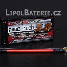 Lipol baterie Turnigy nano-tech 1S 5000mAh 50C 3.7V HARDCASE