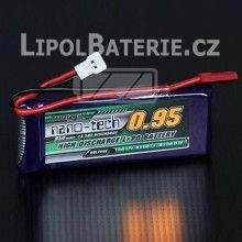 Lipol baterie Turnigy nano-tech 1S 950mAh 25C 3.7V
