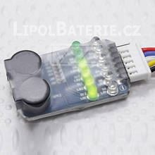 2-6S Lipo Battery Tester Low Voltage Alarm, p�p�k