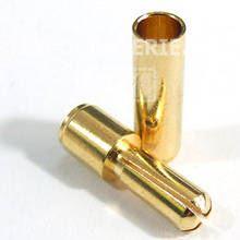 3.5mm Gold konektor kříž - pár