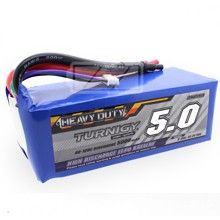 Lipol baterie Turnigy Heavy Duty 6S 5000mAh 60C 22.2V