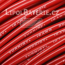 Kabel silicon 16 AWG červený
